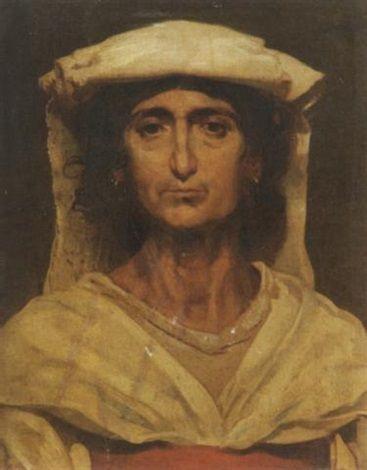 Portrat einer Italienerin in Tracht | Anselm Feuerbach | Oil Painting