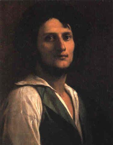 Bildnis eines Mannes | Anselm Feuerbach | Oil Painting