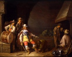 Guardroom Interior   Anthonie Palamedesz   Oil Painting