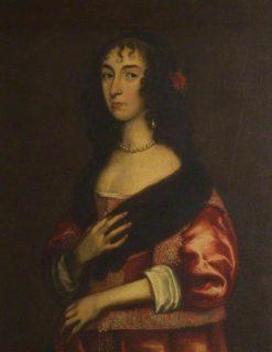 Lady Henrietta Stewart   Anthony van Dyck   Oil Painting
