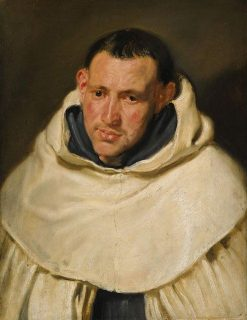 Portrait of a Carmelite Monk | Anthony van Dyck | Oil Painting