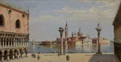 San Giorgio Maggiore | Antonietta Brandeis | Oil Painting