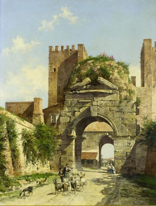 The Arch of Drussus
