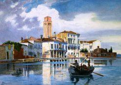 Murano | Antonietta Brandeis | Oil Painting
