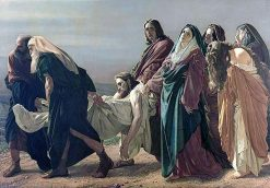 The Transport of Christ to the Sepulcher | Antonio Ciseri | Oil Painting