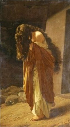 The Penitent Magdalene | Antonio Ciseri | Oil Painting