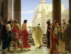 Ecce Homo | Antonio Ciseri | Oil Painting