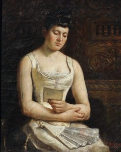 Aunt Louise | August Laux | Oil Painting
