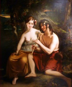 Daphne and Chloe | August Riedel | Oil Painting