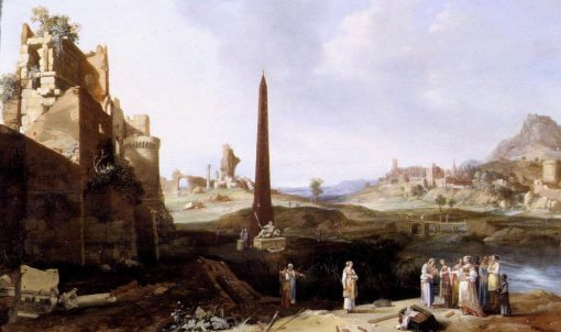 The Finding of Moses | Bartholomeus Breenbergh | Oil Painting