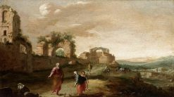 Elijah and the Widow of Zarephath | Bartholomeus Breenbergh | Oil Painting