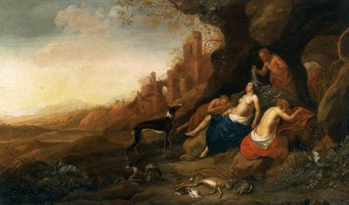 Diana and Her Nymphs | Bartholomeus Breenbergh | Oil Painting