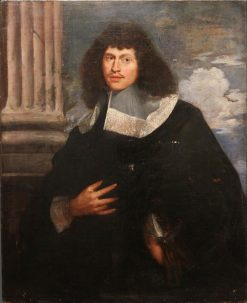 Portrait of Jules Ravalier | Bartholomeus van der Helst | Oil Painting