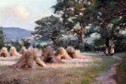 Path through the Corn | Benjamin Fisher | Oil Painting
