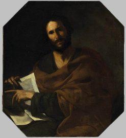 Saint John the Evangelist   Bernardo Cavallino   Oil Painting