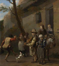 Travelling Musicians | Carel Dujardin | Oil Painting