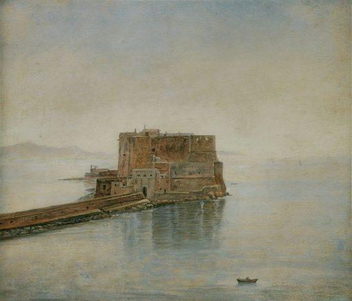 Castel dell'Ovo in Naples | Carl Gustav Carus | Oil Painting