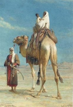 A Bedouin Family in the Wadi Mousa