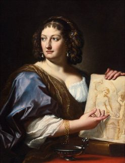 Portrait of Francesca Gommi Maratta