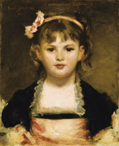 Portrait of a Girl | Charles Auguste Emile Durand | Oil Painting