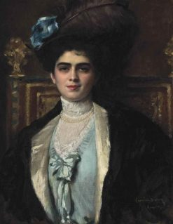 Madame Lafourcade nee Cortira a? la Havane | Charles Auguste Emile Durand | Oil Painting