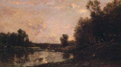 June Day | Charles Francois Daubigny | Oil Painting