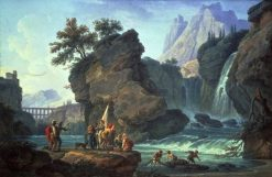 The Cascade | Claude Joseph Vernet | Oil Painting