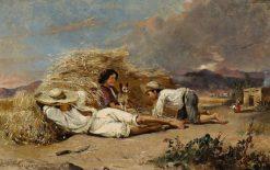 La siesta | Conrad Wise Chapman | Oil Painting
