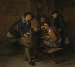 Peasants in an Interior | Cornelis Pietersz Bega | Oil Painting