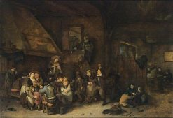Tavern Interior | Cornelis Pietersz Bega | Oil Painting