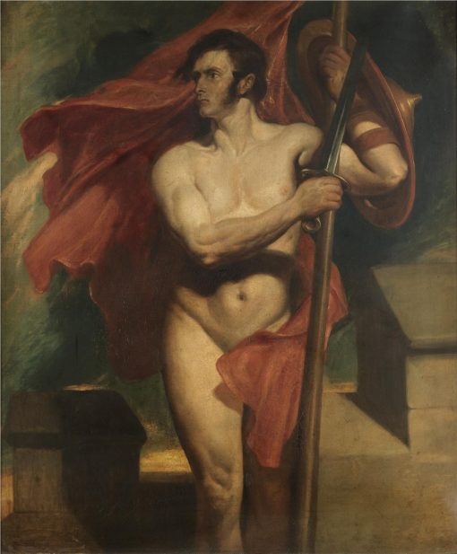 The Standard Bearer | Daniel Maclise