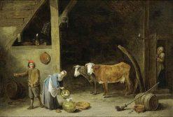 Barn Interior | David Teniers II | Oil Painting