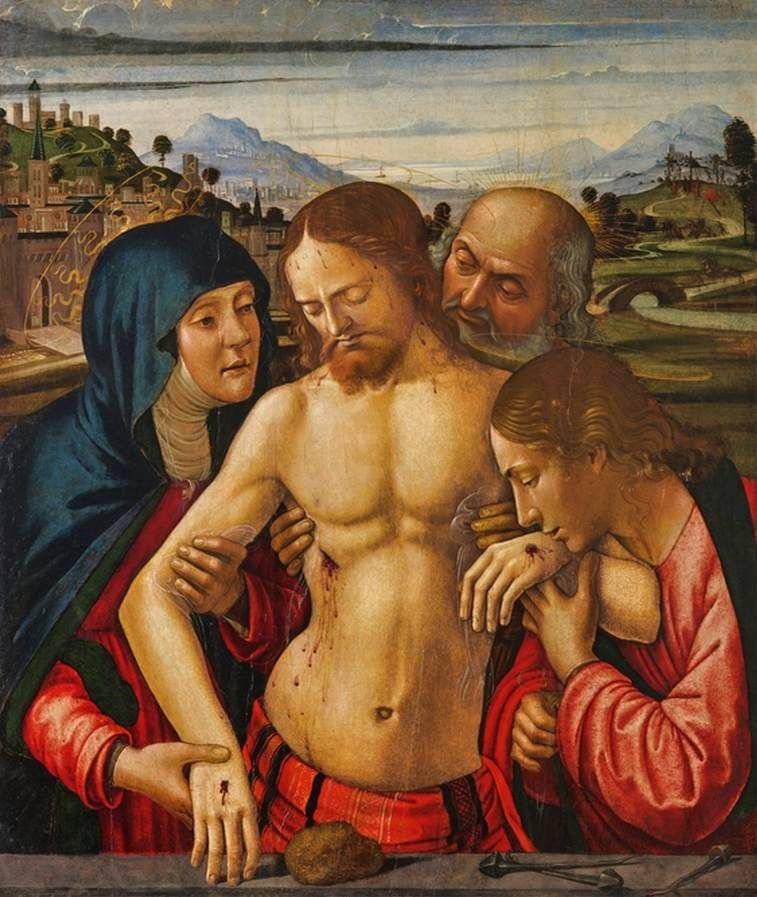Christ Supported by the Virgin