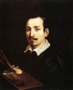 Portrait of Guido Reni | Domenichino | Oil Painting