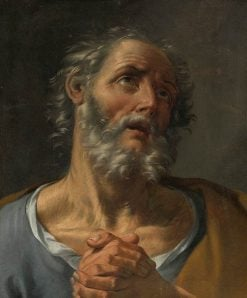 Penitent Saint Peter | Donato Creti | Oil Painting