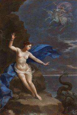 Perseus and Andromeda   Donato Creti   Oil Painting