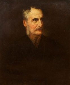 Portrait of Wheeler Peckham | Eastman Johnson | Oil Painting
