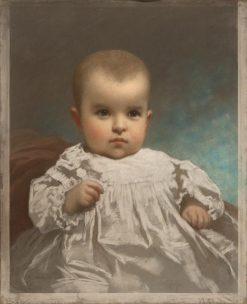 Portrait of the Wilson Baby | Eastman Johnson | Oil Painting