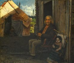 Indian Family | Eastman Johnson | Oil Painting