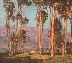 Eucalyptus and Hills | Edgar Alwyn Payne | Oil Painting