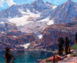 A Lake in the Sierras | Edgar Alwyn Payne | Oil Painting