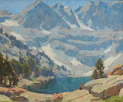High Sierra Lake | Edgar Alwyn Payne | Oil Painting