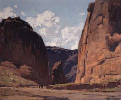 Canyon Gateway | Edgar Alwyn Payne | Oil Painting