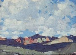 Clouds over Mount Whitney | Edgar Alwyn Payne | Oil Painting