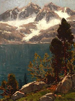 Azure Lake | Edgar Alwyn Payne | Oil Painting