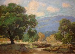 Arroyo Seco Vistas - near Pasadena | Edgar Alwyn Payne | Oil Painting