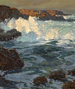 Surging Sea | Edgar Alwyn Payne | Oil Painting