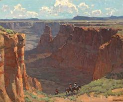 Blue Canyon | Edgar Alwyn Payne | Oil Painting