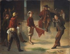 Children Playing Bullfighting | Eduardo Zamacois y Zabala | Oil Painting