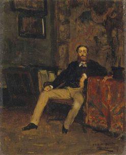 Portrait of Monsieur Nivie?re   Eduardo Zamacois y Zabala   Oil Painting
